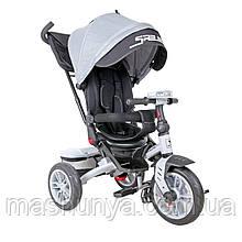 Велосипед триколісний Bertoni Lorelli Speedy Air з поворотним сидінням і фарою