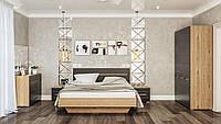 Модульная система для спальни Бьянко (артизан/графит) Мир Мебели