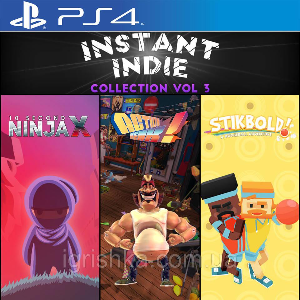 Instant Indie Collection: Vol. 3 Ps4 (Цифровой аккаунт для PlayStation 4)