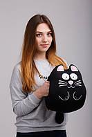 Мягкая игрушка муфта-антистресс Expetro Ручной кот Черный A213, КОД: 1716413