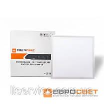 Светодиодная потолочная панель EVROLIGHT PANEL-40Вт 6400K 3360Лм , фото 3