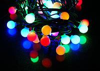 Гирлянда LED Black Line Ball 20M-2 ( 20 светящихся красочных шариков)
