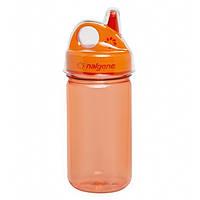 Пляшка для води Nalgene дитяча Grip-n-Gulp оранжева 350 мл SKL24-143864