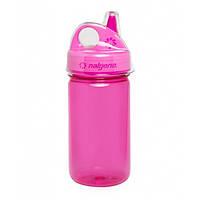 Пляшка для води Nalgene дитяча Grip-n-Gulp розова 350 мл SKL24-143865