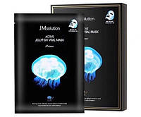 Укрепляющая маска с экстрактом медузы JM Solution Active Jellyfish Vital Mask 33ml JM0131, КОД: 1603701