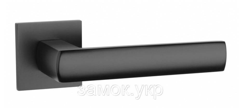 Ручка дверная Tupai 4161 5SQ черный матовый (Португалия)