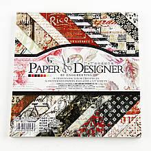 Альбом с бумагой для скрапбукинга 3322414-32 (5843) (175*175 мм) 36 листов