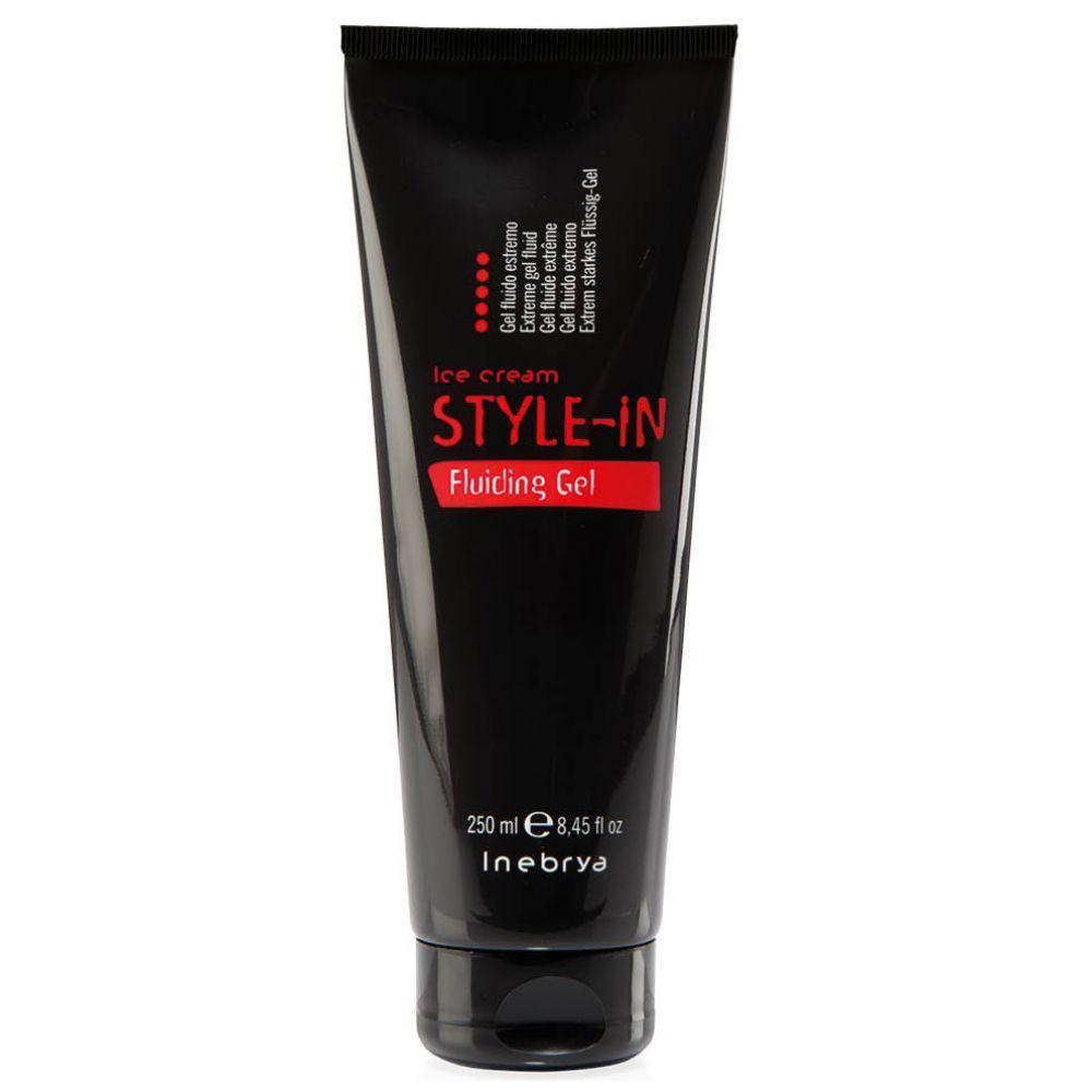 Гель-флюид для укладки волос Inebrya экстрасильной фиксации 250 мл