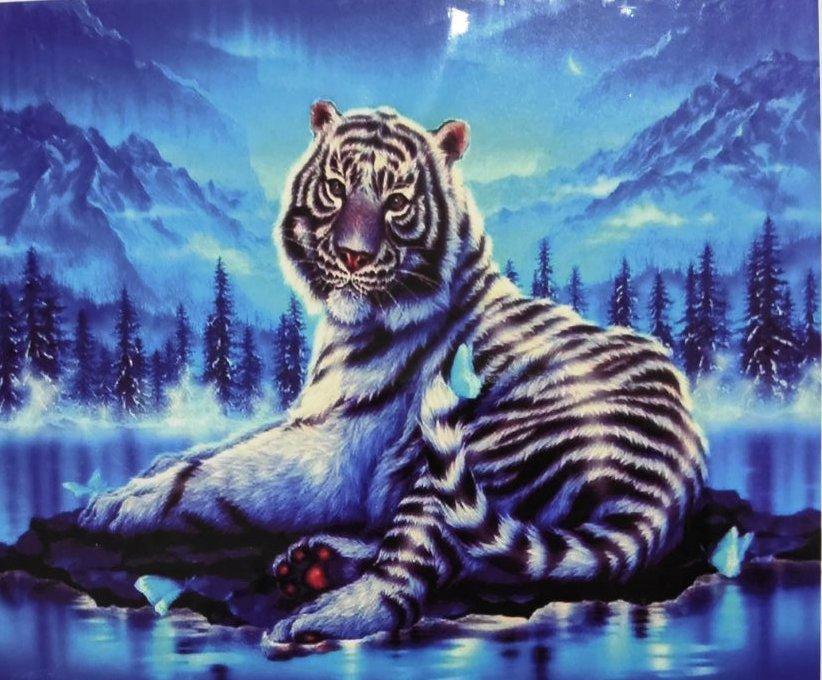 Алмазная вышивка Бенгальский тигр