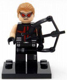 Соколиный глаз Мстители Супергерой Марвел Аналог лего
