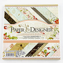Альбом с бумагой для скрапбукинга 3322414-31 (5843) (175*175 мм) 36 листов