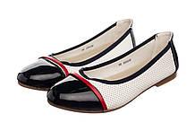 Жіночі балетки Collection 38 Lucky Black-White-Red 5r973z, КОД: 1635527