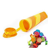 Силиконовая форма CUMENSS N02067 Yellow + Orange для мороженого и фруктового льда 3469-10086, КОД: 1283646