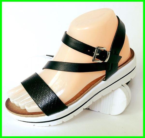 Женские Сандалии Босоножки Летняя Обувь на Танкетке Платформа (размеры: 39)