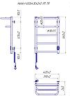 Полотенцесушитель электрический Mario Hotel-I 650х430 + таймер-регулятор, фото 6