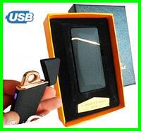 Электрическая USB Зажигалка на Аккумуляторе с Сенсорной Кнопкой, фото 1