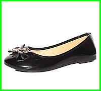Женские Балетки Чёрные Мокасины Туфли (размеры: 36,38,39,40,41), фото 1
