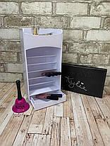 Вертикальный органайзер для косметики Cosmake Lipstick And Nail Polish Organizer, фото 3