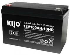 Аккумуляторная батарея Kijo JPC 12V 100Ah Carbon, 100 Ач 12 В