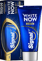 Signal зубная паста отбеливающая White Now Gold 50 мл