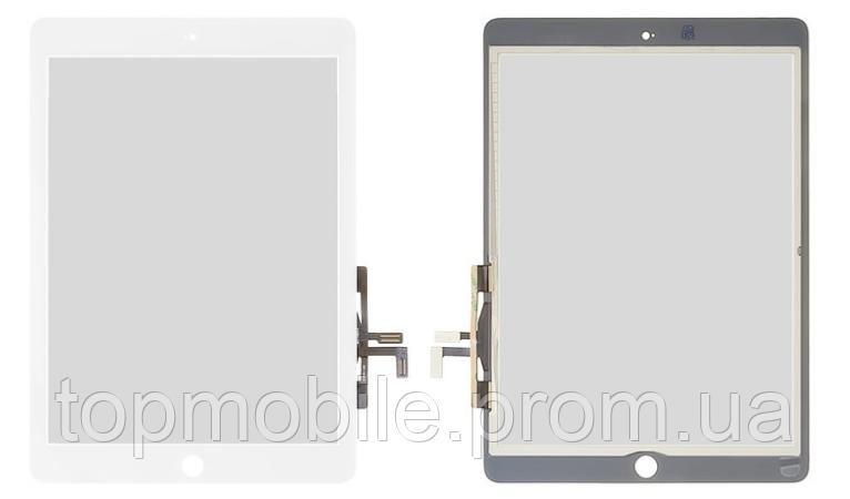 Сенсор iPad Air /iPad 9.7 (2017), белый, копия высокого качества (тачскрин, touch)