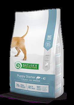 Сухой корм Nature's Protection Puppy Starter для щенков в период прикорма и отлучения от молока, 2 кг