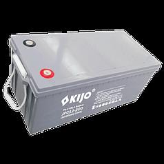 Аккумуляторная батарея Kijo JPC 12V 200Ah Carbon, 200 Ач 12 В