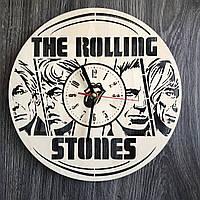 Концептуальные настенные часы 7Arts в интерьер The Rolling Stones CL-0337, КОД: 1474480