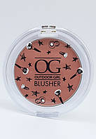 Румяна OUTDOOR GIRL Blusher  ALMOST NUDE 4г