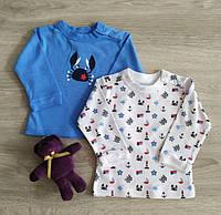 Кофта регланом распашонка для новорожденных Краб Море Польша Одяг на немовлят, фото 1