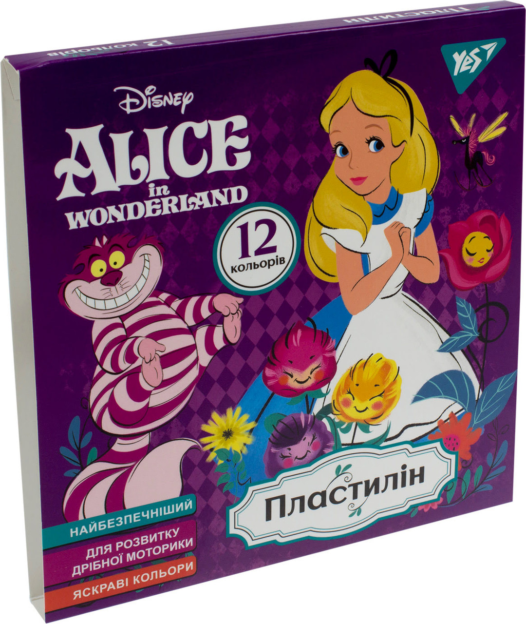 """Пластилін 12 кольор. 240г """"Yes"""" №540564 Alice(44)"""