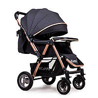 Прогулочная коляска Ninos Maxi Grey N2019MAXIG, КОД: 1236511