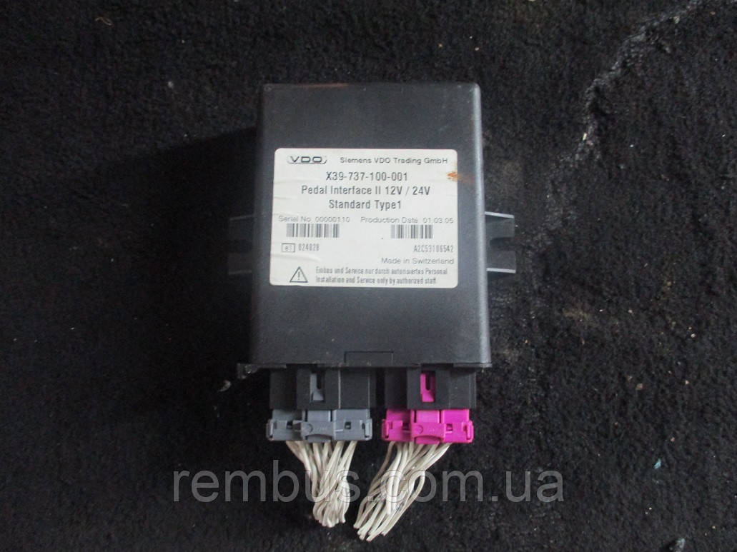 Блок электронный управления центральным замком  OPEL VIVARO 2.5 DCI