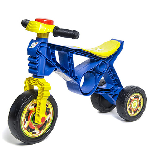 Мотоцикл Біговел синій