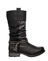 Жіночі чоботи Rieker 97279-00 38 Чорні 97279-0038Black, КОД: 1382277