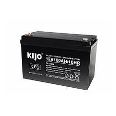 Акумуляторна батарея Kijo JDG 12V 100Ah GEL 100 Ач 12 В