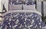 Двуспальный комплект постельного белья евро 200*220 сатин (13956) TM КРИСПОЛ Украина