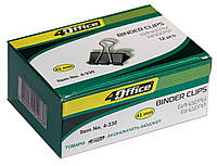 Біндер 41 мм 4Office 4-330 // 12 шт/уп