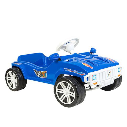 Машина педальная Синяя