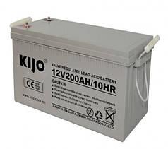 Аккумуляторная батарея Kijo JDG 12V 200Ah GEL, 200 Ач 12 В