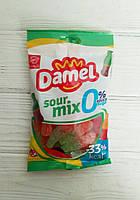 Желейные конфеты без сахара Damel Sour mix 100г (Испания)