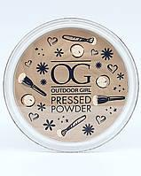 Пудра компактная OUTDOOR GIRL Pressed Powder TRANSLUCENT 9г, фото 1