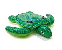 """Детский Надувной плотик Intex 57524 """"Морская черепаха"""" размером 157х127 см, от 3-х лет"""