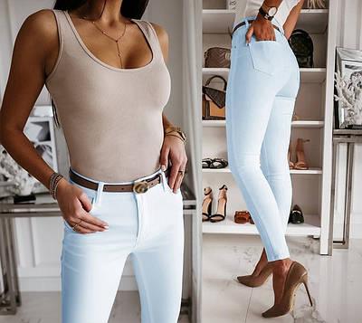 """Стильні жіночі штани вузькі """"Lavan"""" В І"""