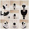 Камера відеоспостереження поворотна Wi-Fi IP 360° на 3 антени з мікрофоном / Нічна зйомка / Датчик руху, фото 9