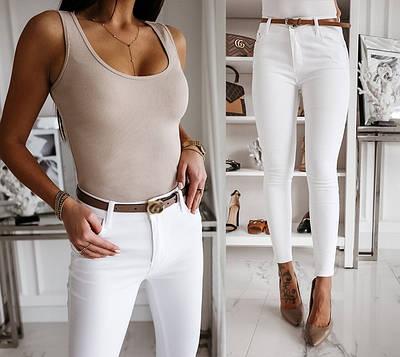 """Стильные женские брюки узкие """"Lavan"""" большой размер В И"""