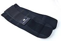 Пояс-корсет для поддержки спины ONHILLSPORT (черный) XXXL (110-120 см)