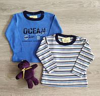 Кофта регланом для новорожденных Океан Полоска Польша Одяг на немовлят, фото 1