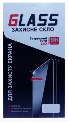 Защитное стекло для Samsung A105/A10 2.5 D Черный