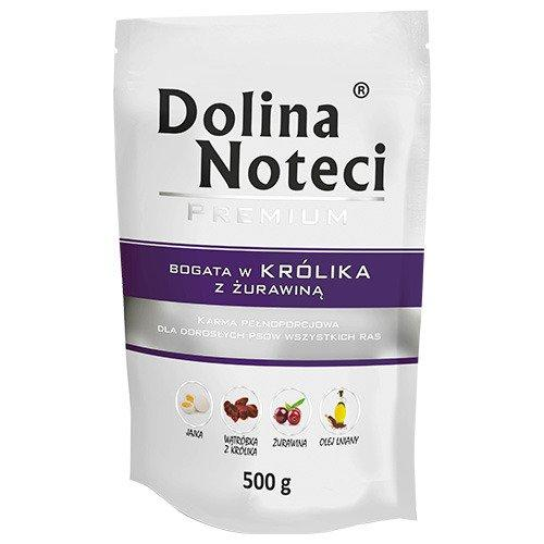 Консерви DN Premium 500 г з кроликом та журавлиною для собак Dolina Noteci